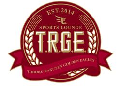 「T.R.G.E.(TOHOKU RAKUTEN GOLDEN EAGLES OFFICIAL SPORTS LOUNGE)」